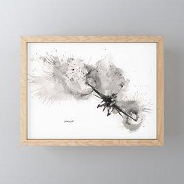 Fighting falcon Framed Mini Art Print