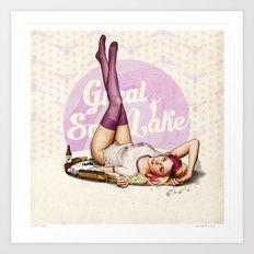 Miss Utah Art Print