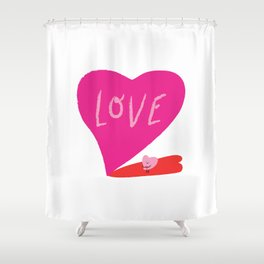Big Love Shower Curtain