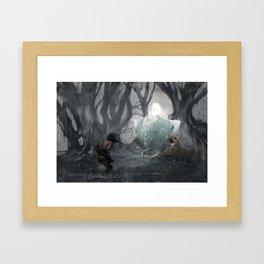Lea's Return Framed Art Print