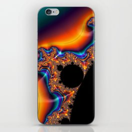 Coastal Sunset - Fractal Art iPhone Skin