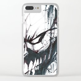 Futuristic Cyborg 2 Clear iPhone Case