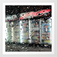 Cold Rain Art Print