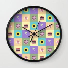 Pick'n'Mix Wall Clock