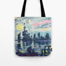 Magical City Evening Tote Bag