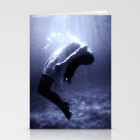 underwater Stationery Cards featuring Underwater by EclipseLio
