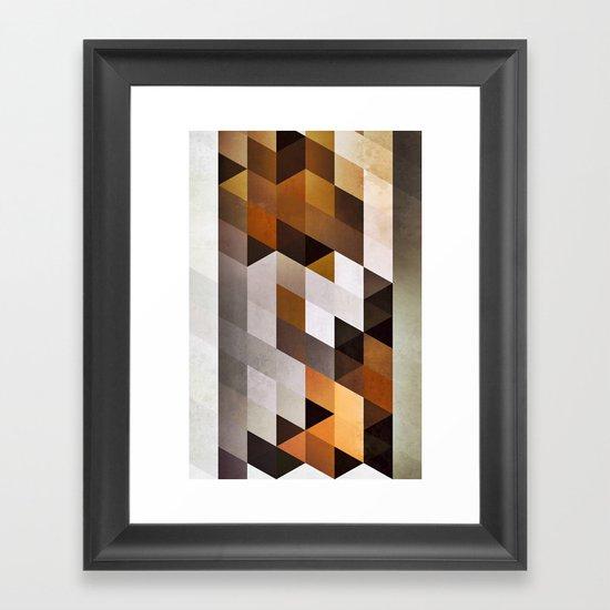 wwwd blxxx Framed Art Print