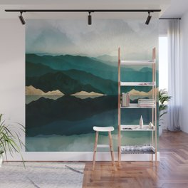 Waters Edge Reflection Wall Mural