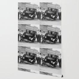 Broken car USA Wallpaper