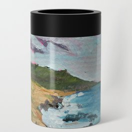 California, Big Sur Painting Can Cooler