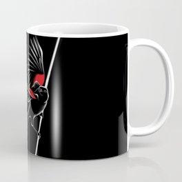 Red shoulder Black bird Coffee Mug