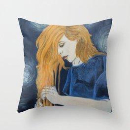 Cascading Light Throw Pillow