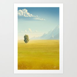 Peaceful Valley Art Print
