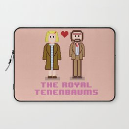 Margot and Richie Tenenbaum 8 bits Laptop Sleeve
