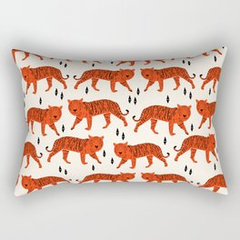 Tiger by Andrea Lauren Design Rectangular Pillow