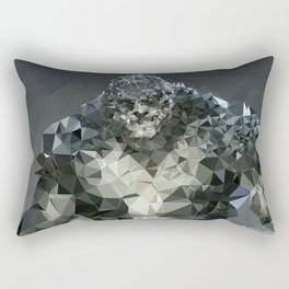 Killer Croc Lowpoly Rectangular Pillow