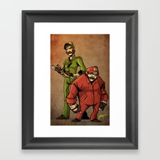 The Original Gangsters Framed Art Print