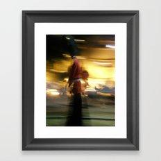Walking tallest Framed Art Print