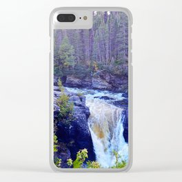 Ste-Anne Waterfalls Clear iPhone Case
