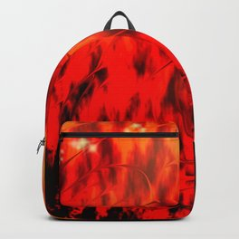 Flames Backpack