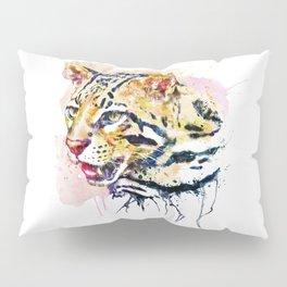 Ocelot Head Pillow Sham