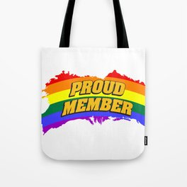 proud - Gay Pride T-Shirt Tote Bag
