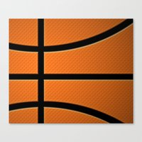 basketball Canvas Prints featuring Basketball by Eye Shutter to Think Photography