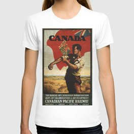 Vintage poster - Canada T-shirt