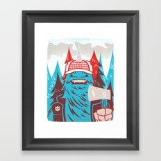 Cornelius : Lumberjack Framed Art Print