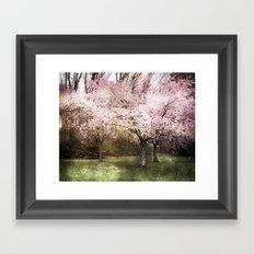 Spring Whispered Softly Framed Art Print