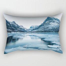 Winter in Innerdalen Rectangular Pillow