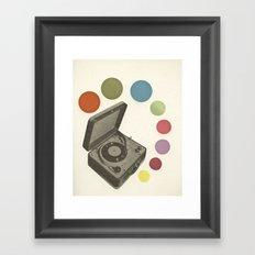 Pop Music Framed Art Print