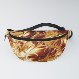 Warped Brown Fanny Pack