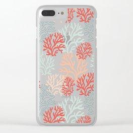 Corals Clear iPhone Case