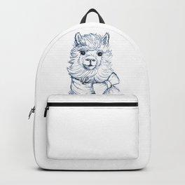 Alpaca Sketch Backpack