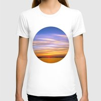 georgia T-shirts featuring Georgia Sunset by Amy Rowland