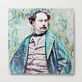 Richard Georg Strauss (1864 – 1949) (digitized photograph) Metal Print