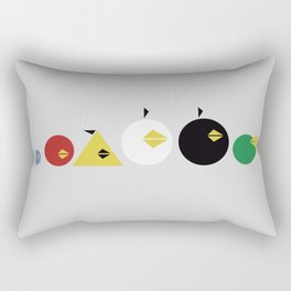 Angry Less Rectangular Pillow