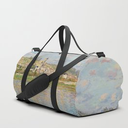 Vetheuil by Claude Monet Duffle Bag