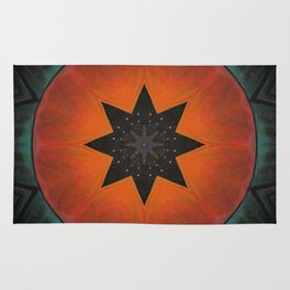 Sol Fire Rug