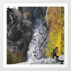 PAYSON RIVER Art Print