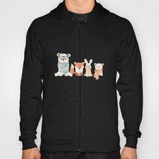 Christmas polar animals pattern 002 Hoody