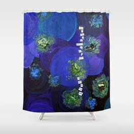 .power of love. Shower Curtain