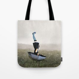 Umbrella melancholy Tote Bag