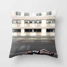 Wait in Berlin Throw Pillow