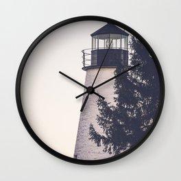 Lighthouse on the Chesapeake Wall Clock