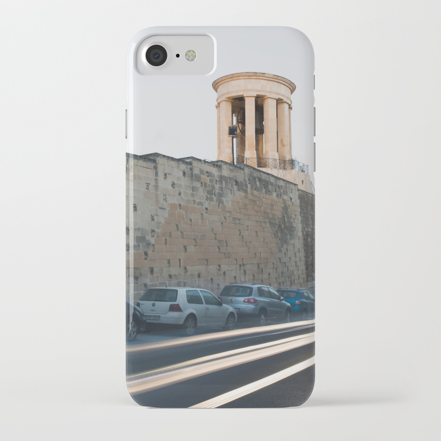 Siege Bell War Memorial iPhone Case