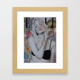 Skin Deep Framed Art Print