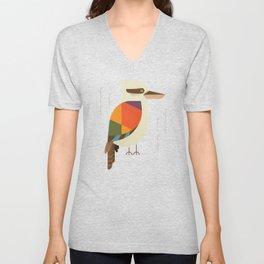 Laughing Kookaburra Unisex V-Neck