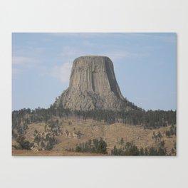 Devils Tower Canvas Print